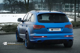 Heckstoßstange für den Audi Q7