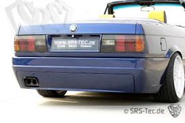 Heckstoßstange für den  BMW 3er (E30)