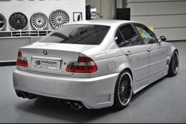Heckstoßstange für den BMW 3er (E46)