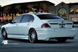 Heckstoßstange für den BMW 7er (E65)