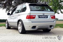 Heckstoßstange für den BMW X5 (E53)