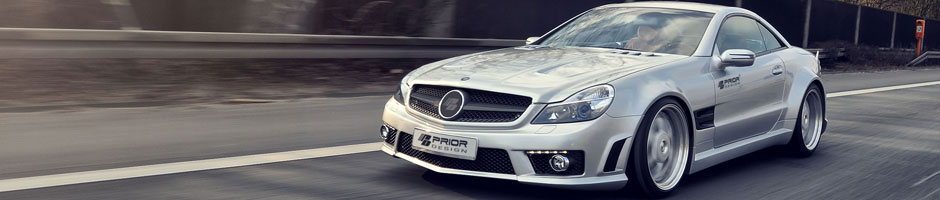Mercedes SL Bodykit