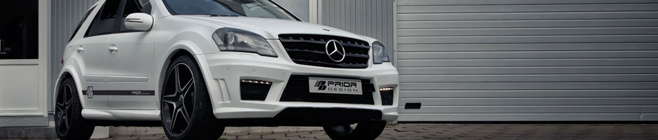 Mercedes ML Bodykit