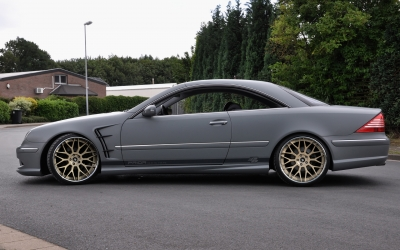 Mercedes CL front fenders PRIOR-DESIGN