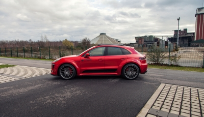 Porsche Macan PD600M Widebodykit