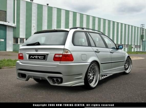 Bmw E46 Touring Rear Bumper F 60 Design