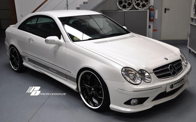Mercedes Clk Pd63 W209 Front Bumper
