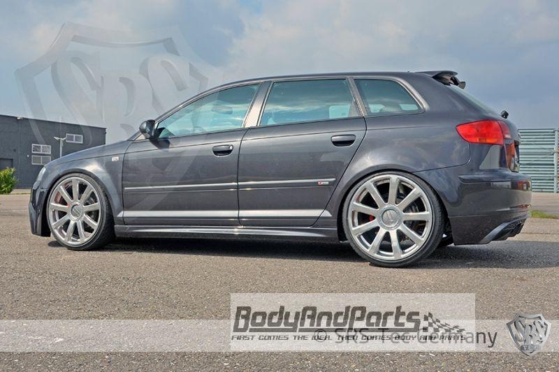 Side Skirts Gt Audi A3 Sportback 8pa