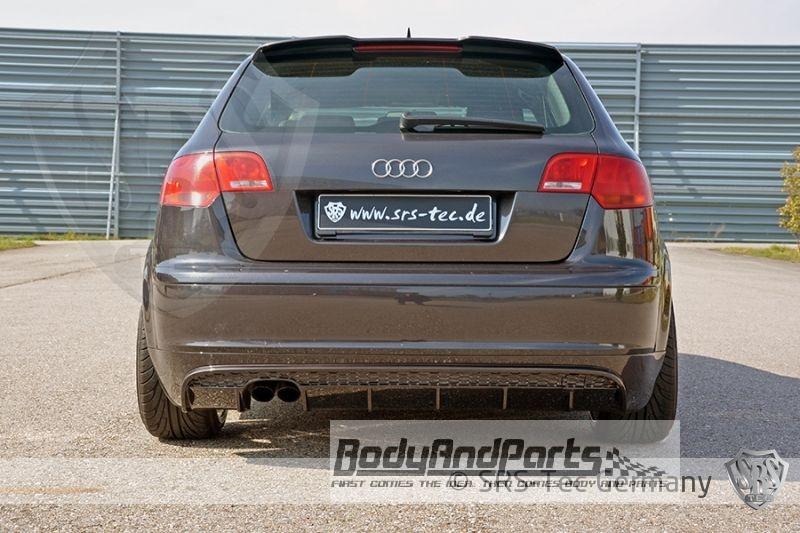Heckansatz Rs Audi A3 Sportback 8pa