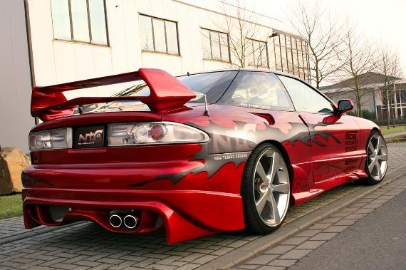 Ford Probe Rear Wing Shogun 2