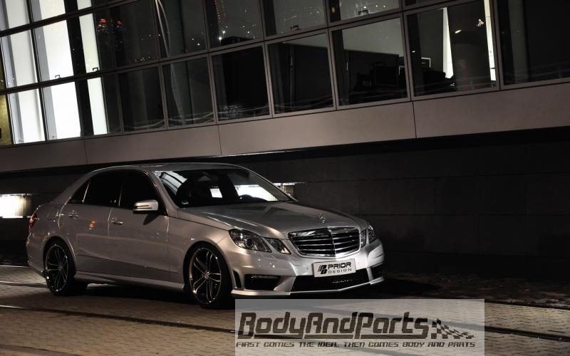 mercedes e klasse limousine frontsto stange pd500. Black Bedroom Furniture Sets. Home Design Ideas