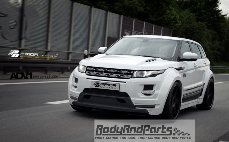 range rover evoque 5d pd650 widebody motorhaube. Black Bedroom Furniture Sets. Home Design Ideas