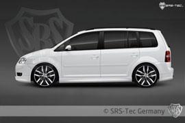 Seitenschweller für den VW Caddy